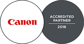 Canon - ACCREDITED PARTNER 2016